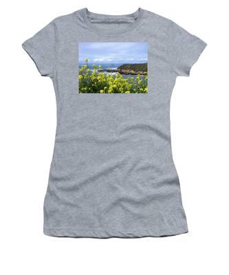 Through Yellow Flowers Women's T-Shirt