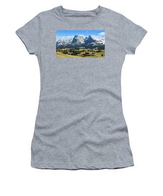 Sasso Lungo And Sasso Piatto Women's T-Shirt