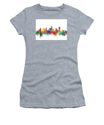 Houston Texas Skyline Women's T-Shirt