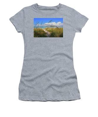 A Day At The Beach Women's T-Shirt