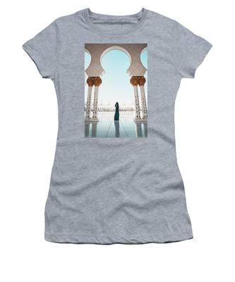 Abu Dhabi Mosque Women's T-Shirt