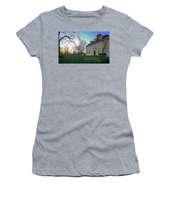 Buckman Tavern At Sunset Women's T-Shirt