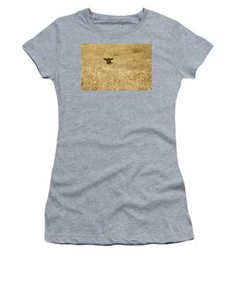 Buttercup In Sepia Women's T-Shirt