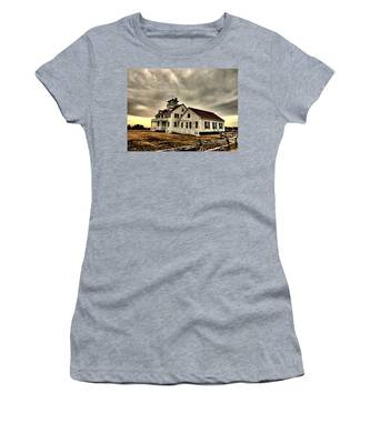 Coast Guard Beach Station Women's T-Shirt