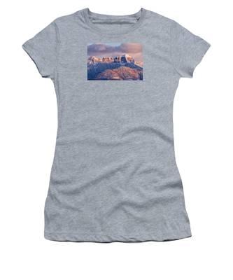 Court House Mountain Glow Women's T-Shirt