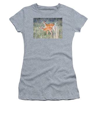 Fawns At Bigfork Women's T-Shirt