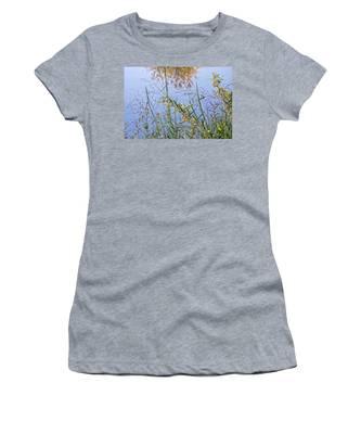 Floral Pond  Women's T-Shirt