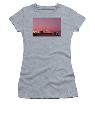 Funtown Pier At Sunset IIi - Jersey Shore Women's T-Shirt