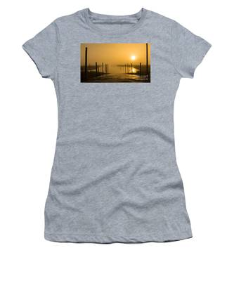 Golden Fog On The Nissequogue Women's T-Shirt