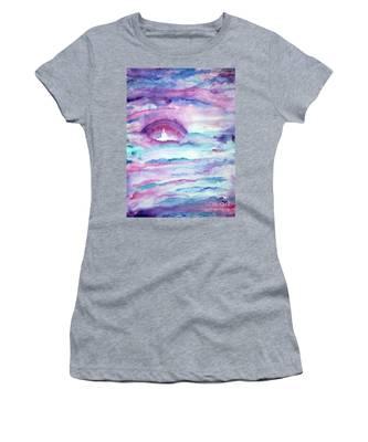 Heaven Awaits Women's T-Shirt by Nancy Cupp