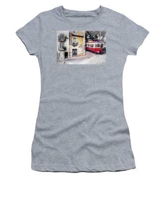 Historic Lisbon Tram Women's T-Shirt