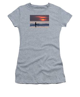 Llangennith One More Wave Women's T-Shirt