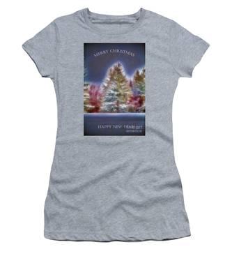 Merrry Christmas And Happy New Year Women's T-Shirt