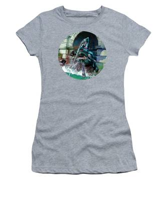 Women's T-Shirt featuring the photograph Neptune Nymph 2 by Robert G Kernodle