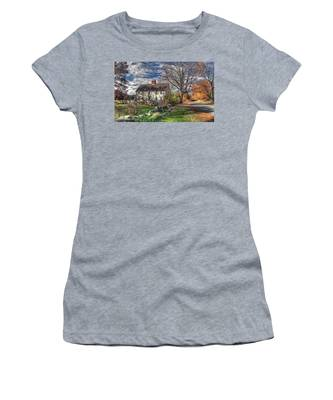 Noyes House In Autumn Women's T-Shirt