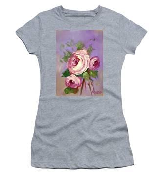 Pink Rose Women's T-Shirt