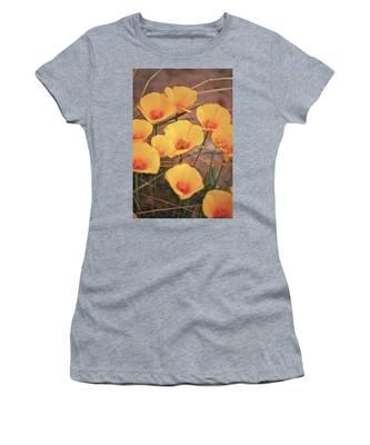 Poppies On Mount Lemmon Women's T-Shirt