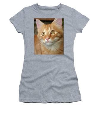 Portrait Of A Cat Women's T-Shirt