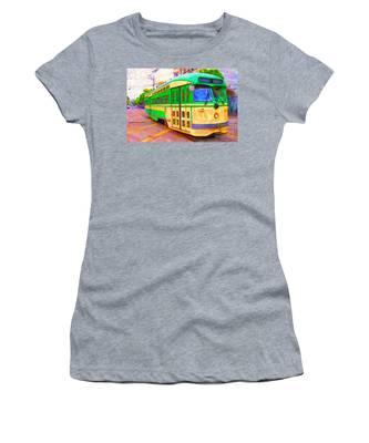 San Francisco F-line Trolley Women's T-Shirt