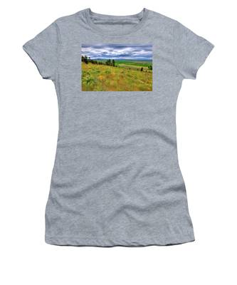 The Grasses Of Kamiak Butte Women's T-Shirt