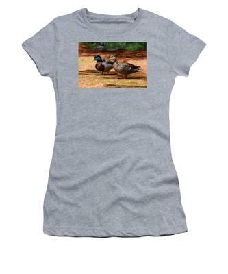 The Honeymooners - Mallard Ducks  Women's T-Shirt