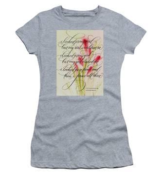 The Searcher By Thomas Blake Women's T-Shirt