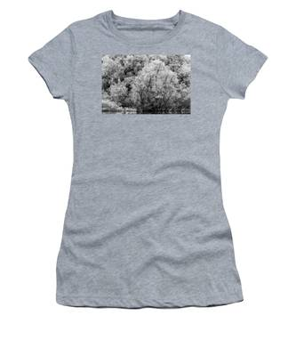 Trees On The River Women's T-Shirt