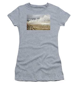 Wall Of Steam Women's T-Shirt