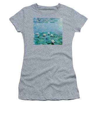 Monet Water Lilies Women's T-Shirts