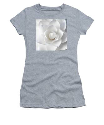 White Petals Women's T-Shirt