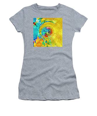 Yellow Eclipse  Women's T-Shirt