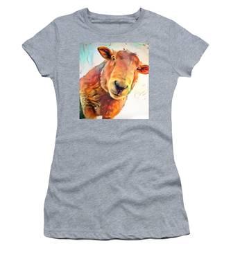 A Curious Sheep Called Shawn Women's T-Shirt