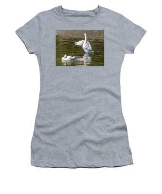 A Pair Of Swans Women's T-Shirt