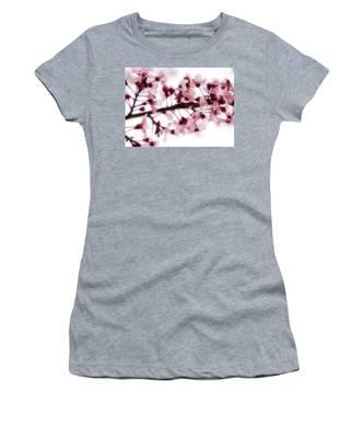 Cherry Triptych Center Panel Women's T-Shirt