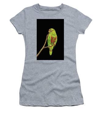 Colorful Parrot Women's T-Shirt