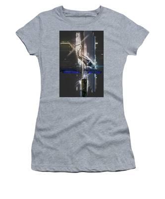 Electric Heron Women's T-Shirt