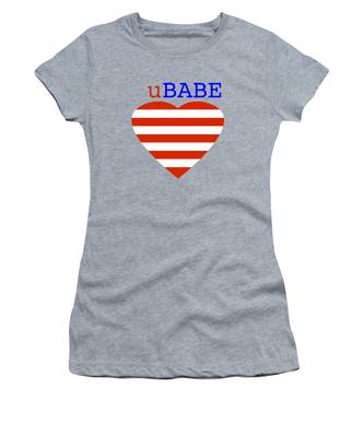 Hearts And Stripes Women's T-Shirt