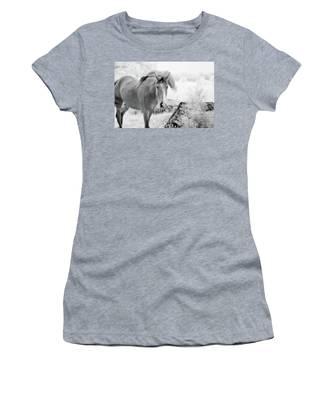 Horse In Infrared Women's T-Shirt