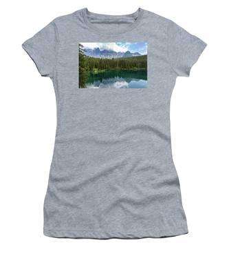 Karersee And Latemar Women's T-Shirt