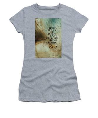 Let Go Women's T-Shirt