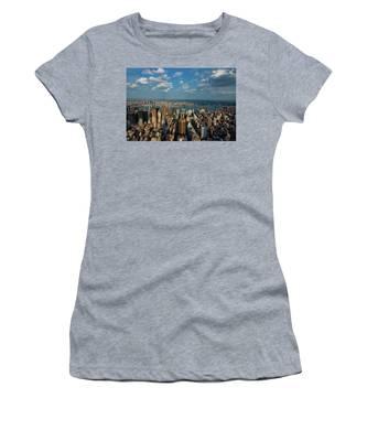 New York Skyline Empire State Women's T-Shirt
