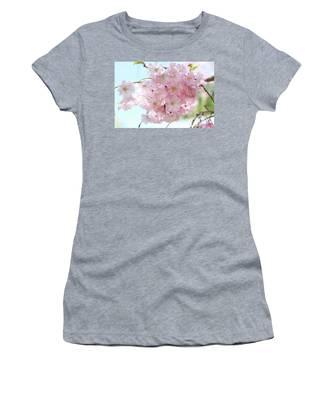 Pretty Pink Blossoms Women's T-Shirt