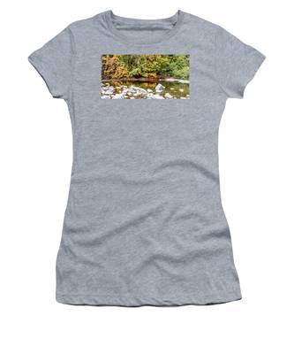 River Rocks Women's T-Shirt