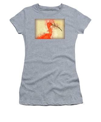 Scarlet Ibis Women's T-Shirt