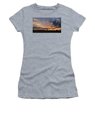 Sunrays At Sunset Women's T-Shirt