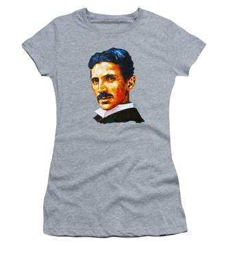 Tesla - Pure Genius Women's T-Shirt