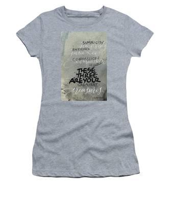Three Treasures Women's T-Shirt
