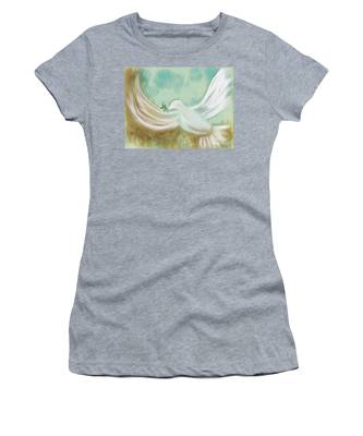 Wings Of Peace Women's T-Shirt