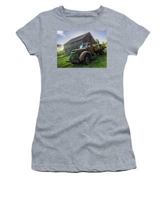 Log Truck Women's T-Shirts