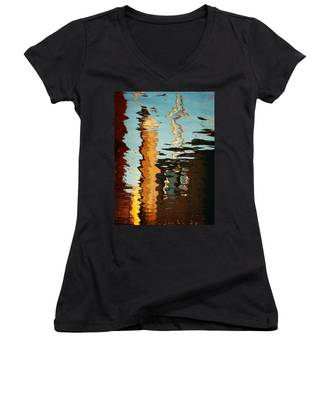Abstract 14 Women's V-Neck